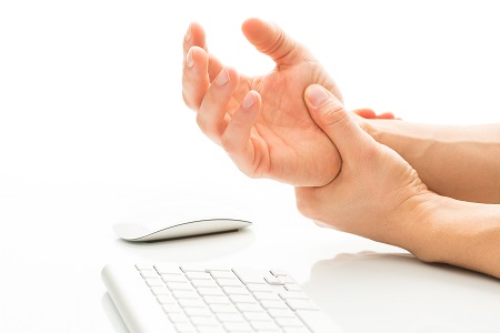 Wrist pain from computer mouse
