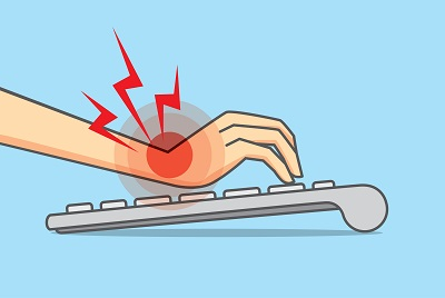 Wrist Pain from using keyboard