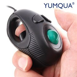 YUMQUA Y-01 Mini Trackball Mouse